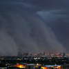 Dust Storm.JPEG-0b70b.JPG A giant dust storm covers Phoenix, Ariz., Tuesday, July 5, 2011. (AP Photo/The Arizona Republic, Rob Schumacher)