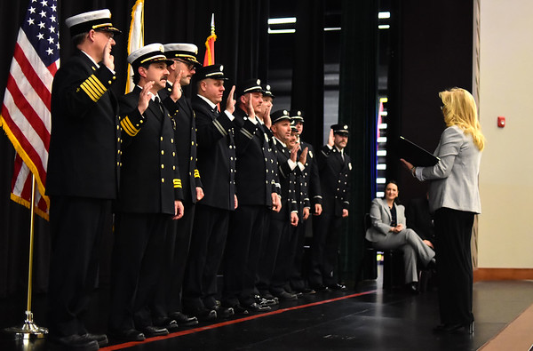 PFD Promotional Pinning Ceremony