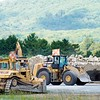 BEN GARVER — THE BERKSHIRE EAGLE<br /> The infrastructure is in place for paving to  begin on runway 8-26 at the Pittsfield Municipal Airport.