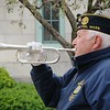 "Ray Kinsella of the Eagles Band and Dalton American Legion Post 155, plays ""Taps"" during a Monday morning ceremony observing National Police Week."