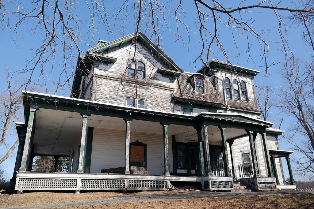 . Springside House in Pittsfield\'s Springside Park is one of several historic propertied in need of preservation. Monday March 24, 2014. Ben Garver / Berkshire Eagle Staff/ photos.berkshireeagle.com