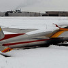 This is the glider that survived the plane collision and returned to the glider port with the three passengers.<br /> At least three people died Saturday afternoon after two planes, one of them pulling a glider, collided in north Boulder, scattering debris over 115 acres of open space.<br /> Cliff Grassmick / February 7, 2010