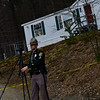KRISTOPHER RADDER — BRATTLEBORO REFORMER<br /> Police investigate a scene at 240 Plain Road, in Hinsdale, N.H., on Thursday, April 11, 2019.