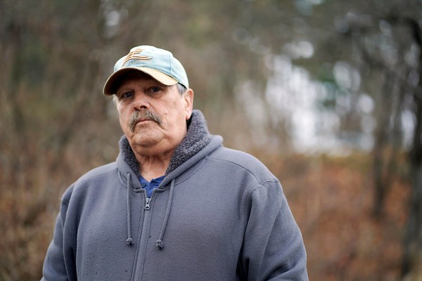 BEN GARVER — THE BERKSHIRE EAGLE<br /> Bill Gates is the president of the Berkshire County League of Sportsmen who is concerned about the speed of the drawdown on Pontoosuc Lake in Pittsfield and Lanesborough, Wednesday, November 27, 2019.