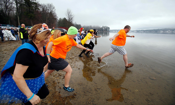 Poultry Plunge at Onota Lake in Pittsfield-112616