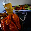 KRISTOPHER RADDER — BRATTLEBORO REFORMER<br /> Peach bourbon boneless wings will be one of the dishes featured at Whetstone Station Restaurant and Brewer during Super Bowl Sunday.