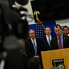KRISTOPHER RADDER — BRATTLEBORO REFORMER<br /> Members of law enforcement hold a press conference at the Brattleboro Police Department that was hosted by United States Attorney Christina Nolan on Tuesday, April 16, 2019.
