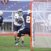 Dalton Cummings beats the goalie as he scores in the Monday game against Notre Dame.