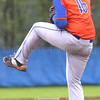Bryce Johnson pitches for Penn Yan during the Thursday, May 4 game against Wayne.
