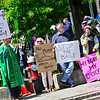 KRISTOPHER RADDER — BRATTLEBORO REFORMER<br /> A group of people gathered at Pliny Park to protest the recent anti-abortion laws that have been passed in other states on Tuesday, May 20, 2019.