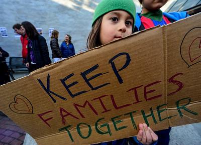 Protest at Pliny Park - 032117