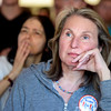 "Kathy Phillips, of Boulder, right, and Mimi Ito, left, listen cafefully to the words of Josh Romney during a Mitt Romney campaign stop on Thursday, Sept. 13, at Geisty's Dogg House in Boulder. For a video of the Romney campaign stop go to  <a href=""http://www.dailycamera.com"">http://www.dailycamera.com</a><br /> Jeremy Papasso/ Camera"