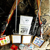 Jackson026x.jpg at Jackson's house in Boulder on Tuesday Feb. 19, 2013. DAILY CAMERA/ JESSICA CUNEO. <br /> Ross Jackson, who has been a part of the Flatirons Ski Club for 49 years, displays his memorabilia including lift tickets and patches from the 1960's at his house in Boulder on Tuesday, Feb. 19, 2012. DAILY CAMERA/ JESSICA CUNEO.