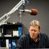BEN GARVER — THE BERKSHIRE EAGLE<br /> Eric Greene, production director and radio personality at WUPE prepares commercials in the production room. Townsquare Broadcasting company is buying a cluster of Berkshire radio stations from Gamma Broadcasting LLC including WBEC, WUPE, WNAW and WSBS.