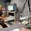 BEN GARVER — THE BERKSHIRE EAGLE<br />  Bryan Slater and Marjo Catalano Marjo Catalano host the Live 95.9 morning show on WBEC in Pittsfield. Townsquare Broadcasting company is buying a cluster of Berkshire radio stations from Gamma Broadcasting LLC including WBEC, WUPE, WNAW and WSBS.