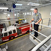 KRISTOPHER RADDER - BRATTLEBORO REFORMER<br /> Brattleboro Firefighter Michael Heiden talks about the larger space, and how much more can be accomplished.