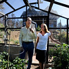"Richard Nuzzi and Stephanie O'Hearn are inside their new greenhouse talking about gardening.<br /> Richard Nuzzi and Stephanie O'Hearn are near completion of rebuilding their home after losing the previous one in the Four Mile Canyon Fire last year.<br /> For a video and more photos from the fire rebuilding, go to  <a href=""http://www.dailycamer.com"">http://www.dailycamer.com</a>.<br /> Cliff Grassmick / August 24, 2011"