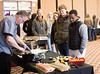 Chadron State College students, faculty and staff try food from different vendors during the 10th annual Shamrock/CSC Dining Services Campus Food Show in the Student Center's Ballroom, Tuesday, Feb. 12, 2019. (Photo by Kelsey R. Brummels/Chadron State College)