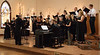 Dr. Joel Schreder, left, directs the Chadron State College  Community Chorus during a performance at the Chadron Arts Center Sunday, Nov. 11, 2018.  (Tena L. Cook/Chadron State College)