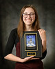 Ashley Heelan of Lewellen, Nebraska, is the Project Strive/TRiO January 2019 Student of the Month. (Photo by Daniel Binkard/Chadron State College)