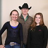 These Chadron State students placed high in competitions at the International Society of Range Management Convention in Sparks, Nevada, in late January. They are, from left, Missy Jech of Rushville, first in a division of the photo contest; Will Krause of Spring Branch, Texas, first in the poster contest; and Jessica Hurd, fifth in extemporaneous speaking among at least 50 entries. (Chadron State College/Con Marshall)