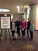 Five Chadron State College students attended Sigma Tau Delta's international convention in Cincinnati, Ohio, March 21-24. Stephanie Gardener of Chadron, Shaniya DeNaeyer of Valentine, Neb.,  Kaitlin Macke of Lead, S.D., Nalani Stewart of Colorado Springs, Colo.  and Lydia Privett of Wahoo, Neb. (Courtesy photo)