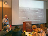 Nebraska rancher John Maddux talks about the history and current operation of his family ranch to Chadron State College range management students and area ag producers at the Upper Niobrara White Natural Resource District Range Day on Thursday, Jan. 12, 2017, at the CSC Student Center. Maddux detailed the economics involved in his use of winter cornstalk grazing for yearling cattle. (George Ledbetter photo)