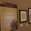 "The exhibition, ""Chartering Freedom"" is open April 4-May 25, 2017, at the Mari Sandoz High Plains Heritage Center at Chadron State College. The documents reproduced in this exhibition chronicle the creation of the Declaration of Independence, Constitution, the Bill of Rights, and their collective impact on events in the U.S. and the world. (Photo by Tena L. Cook/Chadron State College)"