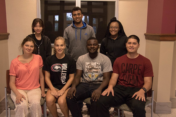 New International Students Fall 2016. (Photo by Tena L. Cook/Chadron State College)