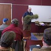 High Plains Herbarium curator Steve Rolfsmeier teaches plant identification at CSC's annual tree pruning workshop for public landscape managers March 8, 2018, in the Student Center. (Photo by Tena L. Cook/Chadron State College)