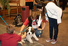 Chadron State College students participate in Fall Finals Pet Therapy co-sponsored by Project Strive and Residence Life Association Tuesday, Dec. 11, 2018, in the Student Center. (Tena L. Cook/Chadron State College) — at Chadron State College.