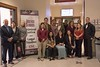 Chadron State College Associate Professor of Criminal Justice and department chair Dr. Jamie Wada, left, poses with Western Nebraska Community College criminal justice students following the Nebraska Court of Appeals session on campus April 11, 2017. CSC graduate Tiffany Wasserburger, fourth from right, led the group. (Photo by Tena L. Cook/Chadron State College)