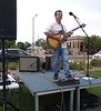 Dr. Mckay Tebbs performs at Food Truck Friday in Scottsbluff, Neb., Sept. 6, 2019. (Courtesy photo)
