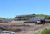 Construction crews continue work on the Chadron State College Sports Complex June 11, 2018. (Photo by Kaleb Center)