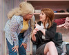 "Truvy, played by Jennaya Hill, speaks to Clairee, played by Taylor Thies, during Chadron State College's production of ""Steel Magnolias,"" by Robert Harling. (Photo by Daniel Binkard/Chadron State College)"