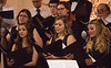 The combined Chadron State College Concert Choir and CSC Community Chorus performs at the Chadron Arts Center Sunday, Nov. 11, 2018.  (Tena L. Cook/Chadron State College)