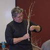Chadron State College horticulturist Lucinda Mays instructs a group of public landscape managers during CSC's annual tree pruning workshop March 8, 2018, in the Student Center. (Photo by Tena L. Cook/Chadron State College)