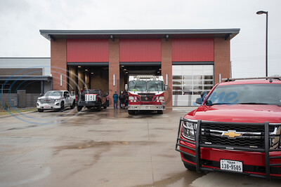 The relocated Tyler Fire Station No. 4 is pictured during it's grand opening on Monday, Feb. 3, 2020 at 7445 Cherryhill Drive.  (Sarah A. Miller/Tyler Morning Telegraph)