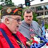 KRISTOPHER RADDER - BRATTLEBORO REFORMER<br /> Veteran groups around Brattleboro, Vt., gather to honor fallen commands during various Memorial Day ceremonies on Monday, May 28, 2018.