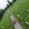 KRISTOPHER RADDER - BRATTLEBORO REFORMER<br /> People gather at St. Michael's Cemetery for a Memorial Day ceremony on Monday, May 28, 2018.