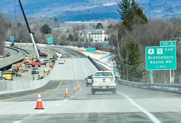Reopening I-91 northbound lanes - 032117