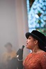 "Samirah Evans singing ""Why the King of Love is Dead""; KELLY FLETCHER, REFORMER CORRESPONDENT"