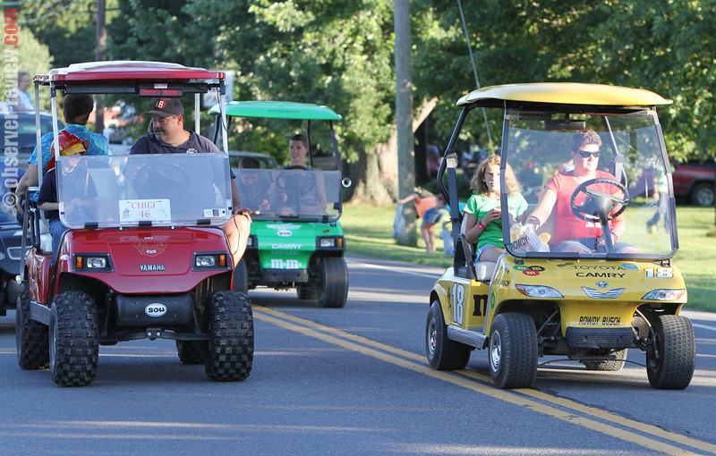 The annual Hector Fireman's Fair is was held Thursday, July 25, to Saturday, July 27, 2013. Friday featured the annual parade to the fairgrounds.