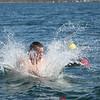 The 12th annual polar bear plunge at the Anchor Inn and Marina Tiki Bar on Seneca Lake, Saturday, April 25.