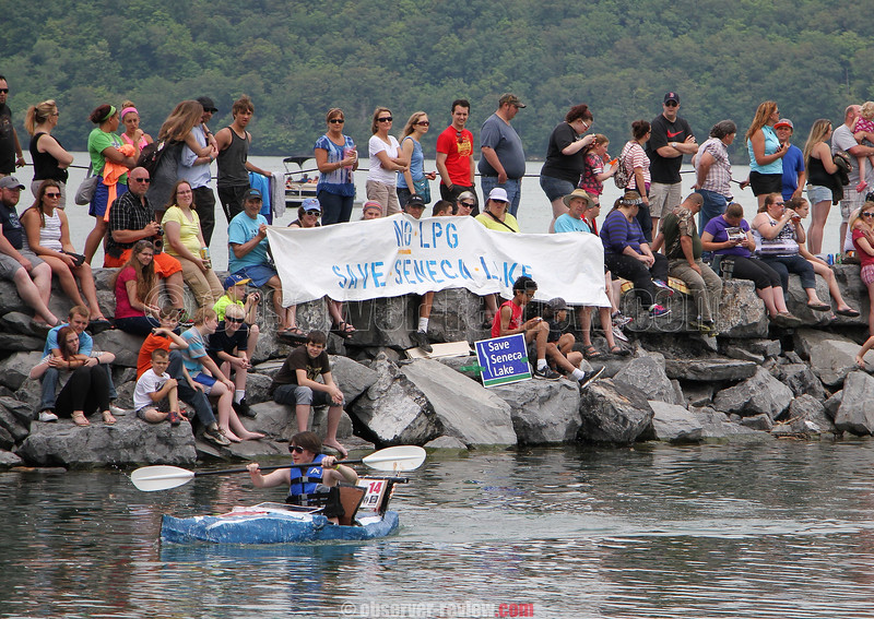 Watkins Glen Cardboard Regatta, June 20, 2015.
