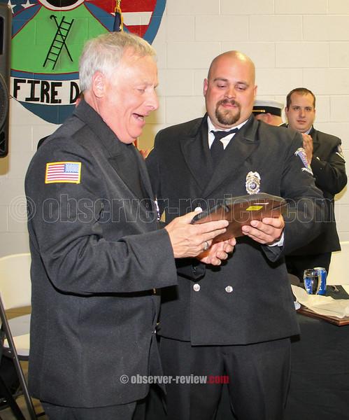 Watkins Glen Fire Department Awards, April 18, 2015