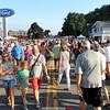 Grand Prix Festival brings thousands downtown<br /> <br /> Thousands of curious spectators lined the streets of Watkins Glen for the annual Grand Prix Festival Friday, Sept. 9. Vehicles were parked along Franklin Street for crowds to inspect before it became time for the crowd to see them in action.