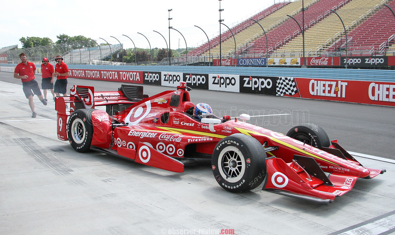 INDYCAR test at Watkins Glen International 6-20-16.