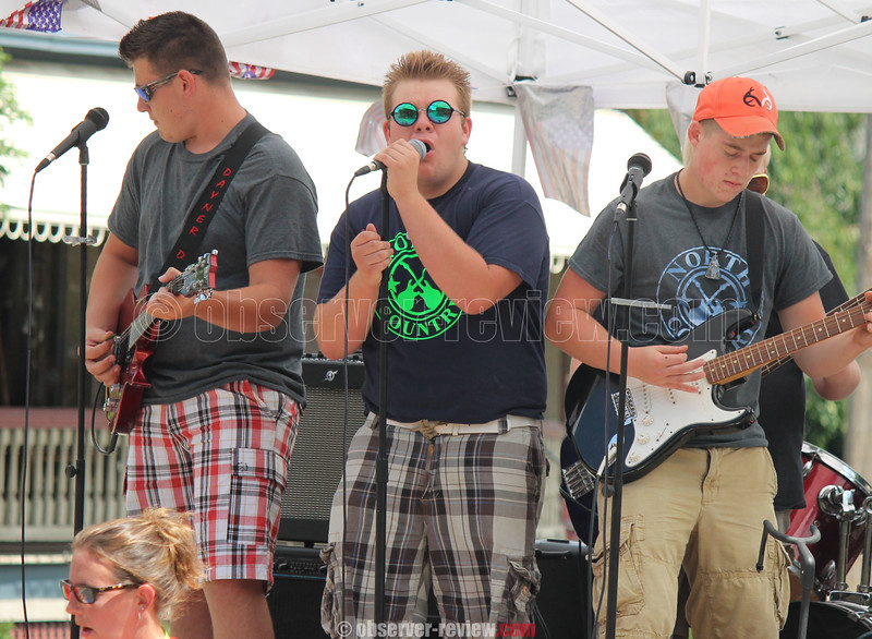 Heritage, music on display at Italian American Festival<br /> <br /> The Italian American Festival came to Watkins Glen last weekend, bringing music, food, fireworks and fun to the village. The festival ran Friday through Sunday, Aug. 12 through 14, in Clute Park. Pictured above is one of several bands that performed in Saturday's parade down Decatur and Fourth Streets, which included rock, jazz, marching, symphonic steel and Celtic bands as part of the procession.