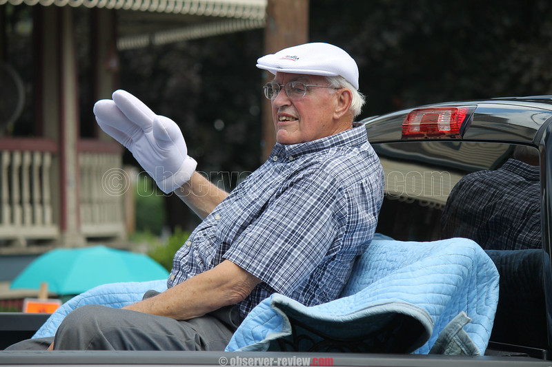 John Vona was the Grand Marshal of the parade held Saturday, Aug. 13 in the village of Watkins Glen. Vona is the Democratic Commissioner for the Schuyler County Board of Elections.